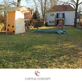 Wohnen im grünen Kleinmachnow – Freistehendes Einfamilienhaus auf 1271 m² Grundstück
