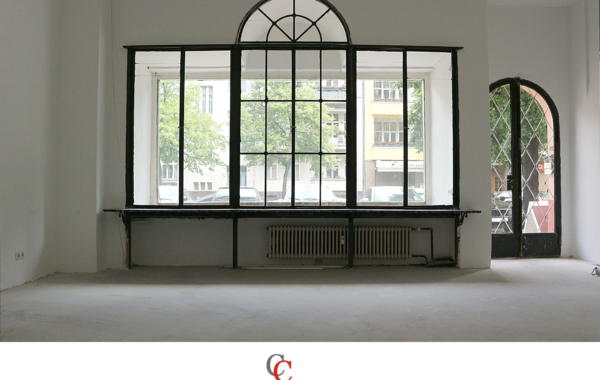 Ladengeschäft mit 4m² Schaufenster in Charlottenburg