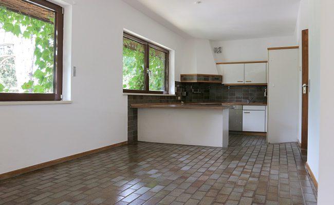 Küche und Essbereich klein