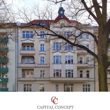 * Kapitalanlage * vermietete 2 Zimmer Wohnung in Berlin-Charlottenburg